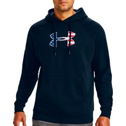 Under Armour Mens Rival Freedom Logo Fleece Hoodie