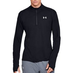 Under Armour Mens UA Streaker 1/2 Zip Long Sleeve T-Shirt