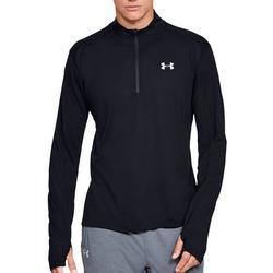 Mens UA Streaker 1/2 Zip Long Sleeve T-Shirt