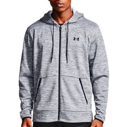 Under Armour Mens UA Fleece Full Zip Hoodie