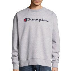 Champion Mens Classic Fleece Logo Sweatshirt