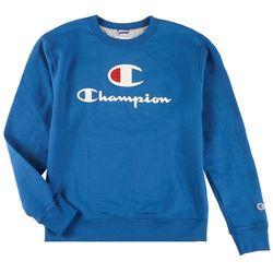 Champion Mens Graphic Crew Sweatshirt