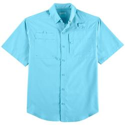 Mens Big & Tall Saltwater Short Sleeve Shirt