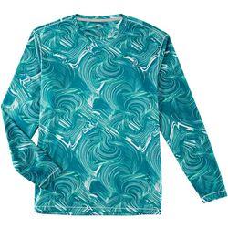 Reel Legends Mens Reel-Tec Quick Lines Long Sleeve T-Shirt