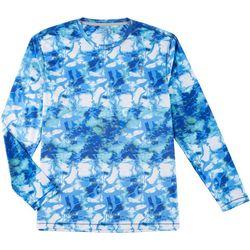 Reel Legends Mens Reel-Tec Shoreline Long Sleeve T-Shirt