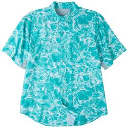 Mens Mariner All Over Water Short Sleeve Top