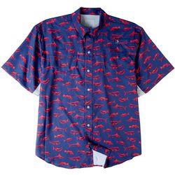 Reel Legends Mens Mariner II Trophy Catch Short Shirt