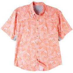 Mens Mariner Print Short Sleeve Top