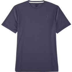 Reel Legends Mens Freeline Solid V-Neck Short Sleeve T-Shirt