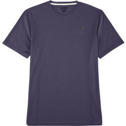 Mens Freeline Solid V-Neck Short Sleeve T-Shirt
