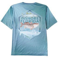 Reel Legends Mens Reel-Tec Inshore Florida T-Shirt