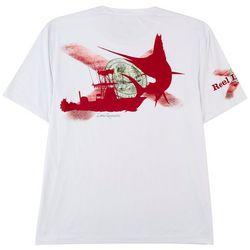 Reel Legends Mens Reel-Tec Florida Flag Logo T-Shirt