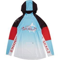 Loco Skailz Mens Tournament Renegade Chest Logo Hoodie