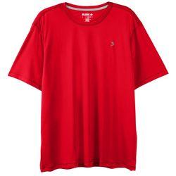 Mens Reel-Tec Solid Crew Short Sleeve T-Shirt