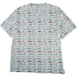 Mens Reel-Tec All Over Fish T-Shirt