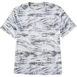 Reel Legends Mens Reel-Tec Mystery Wave After Wave T-Shirt