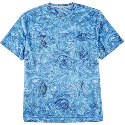 Mens Reel-Tec Underwater Marble T-Shirt