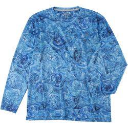 Reel Legends Mens Reel-Tec Under Water Long Sleeve T-Shirt