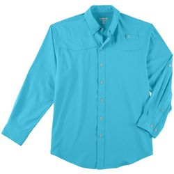 Reel Legends Mens Mariner II Long Sleeve Shirt