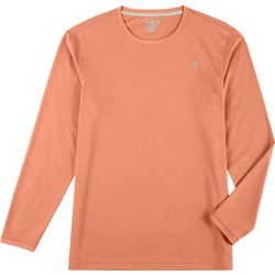 Reel Legends Mens Freeline Textured Long Sleeve Shirt