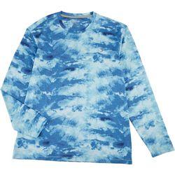 Reel Legends Mens Keep It Cool Cloud Long Sleeve T-Shirt