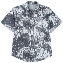 Reel Legends Mens Mariner II Splat Short Sleeve Shirt