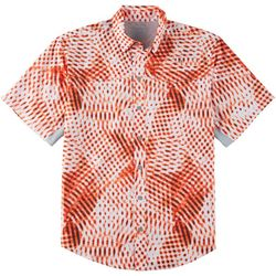 Reel Legends Mens Mariner II Digital Short Sleeve Shirt
