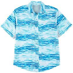 Mens Mariner II Waterlines Short Sleeve Shirt