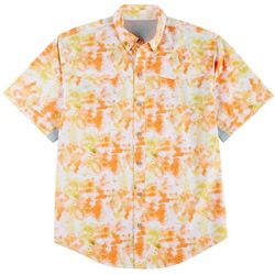 Reel Legends Mens Mariner II Surface Short Sleeve Shirt