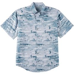 Reel Legends Mens Mariner II Swim Wahoo Short Sleeve Shirt