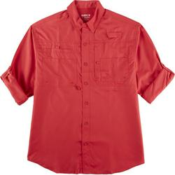 Mens Saltwater II Long Sleeve UPF Fishing Shirt