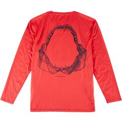 Mens Long Sleeve Reel-Tec Jaws Tee