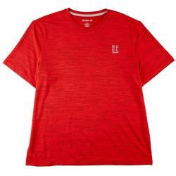 Mens Solid V-Neck Short Sleeve T-Shirt