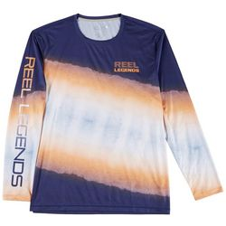 Reel Legends Mens Reel-Tec Shark Summer Performance T-Shirt