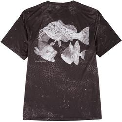 Mens Reel-Tec Scale Print Performance T-Shirt