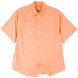 Reel Legends Mens Saltwater Short Sleeve Shirt