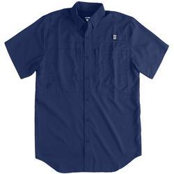 Mens Saltwater II Short Sleeve UPF 50 Shirt