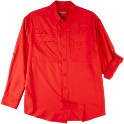 Reel Legends Mens Long Sleeve Shirt