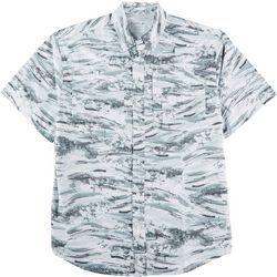 Reel Legends Mens Saltwater Wave After Wave Shirt