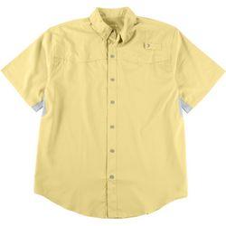 Reel Legends Mens Mariner II Short Sleeve Fishing Shirt