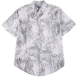 Reel Legends Mens Palma Sola Greyscale Shirt