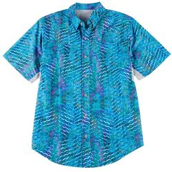 Reel Legends Mens Mariner II Gritty Scales Shirt