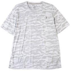 Reel Legends Mens Reel-Tec Camo Wave T-Shirt