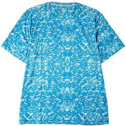 Reel Legends Mens Reel-Tec Globe Camo Performance T-Shirt