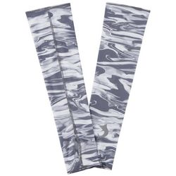 Reel Legends Mens Keep It Cool Sonic Waves Sun Sleeves