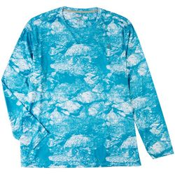 Reel Legends Mens Reel-Tec Morning Frost Long Sleeve T-Shirt