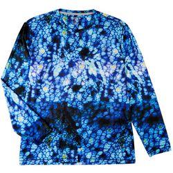 Reel Legends Mens Reel-Tec Salt Spring Long Sleeve T-Shirt