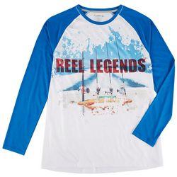 Reel Legends Mens Reel-Tec Reel Scene Long Sleeve T-Shirt