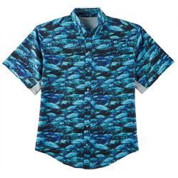 Reel Legends Mens Mariner II Reel Tarpon Short Sleeve Shirt