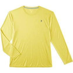 Mens Reel-Tec Deboss Solid Thumbhole T-Shirt